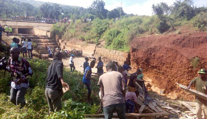 Gasenyi : un  éboulement fait 6 morts non loin du Palais présidentiel en construction
