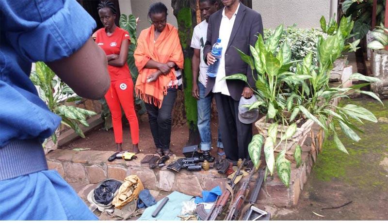 Gikungu : Saisie d'armes de guerre dans un ménage