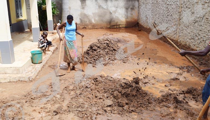Carama : Plus de 30 maisons  détruites à la suite des fortes pluies