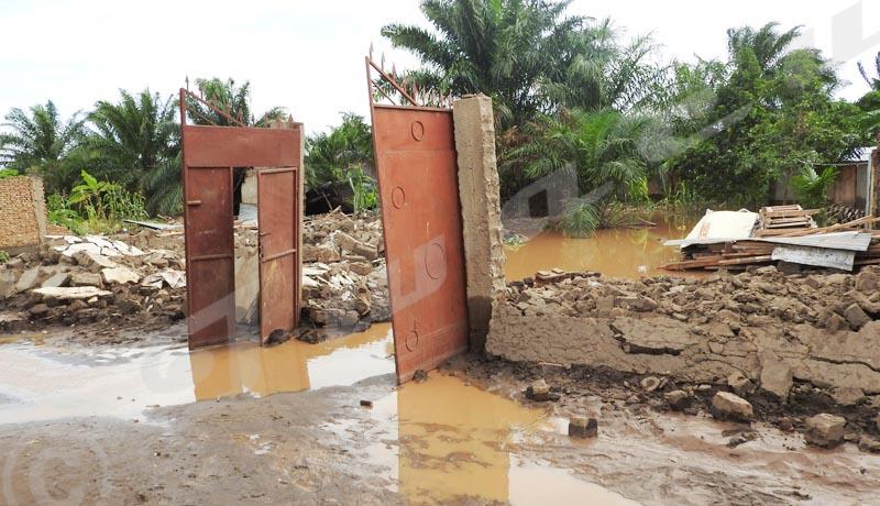 Plusieurs centaines de maisons détruites par les eaux  à Buterere