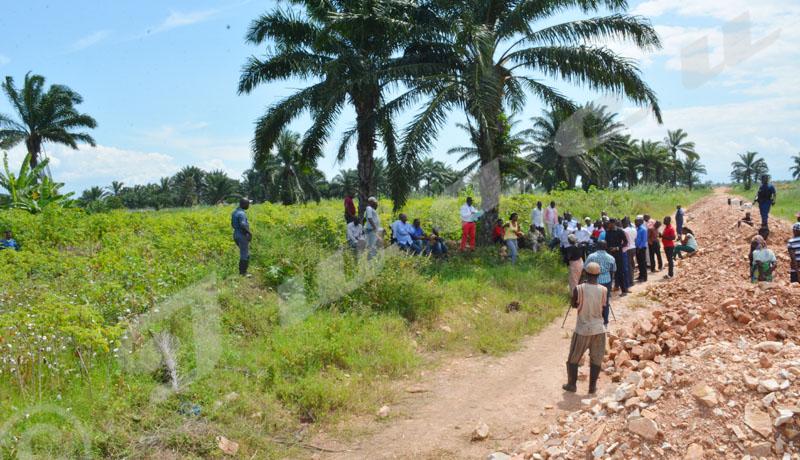 Lundi, 28 mai 208 - La Commission  nationale des terres et autres bien a restitué un terrain de 3 ha à la succession Issa Gahinga. La partie lésée  va porter plainte