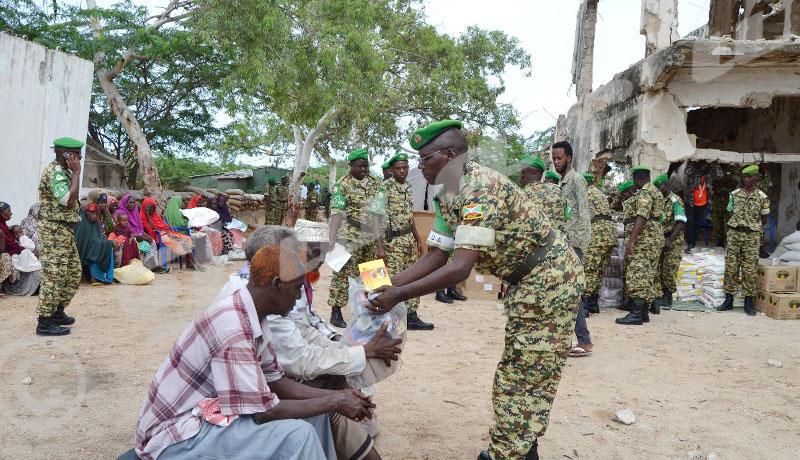 Le contingent burundais en Somalie, pour la paix et la charité
