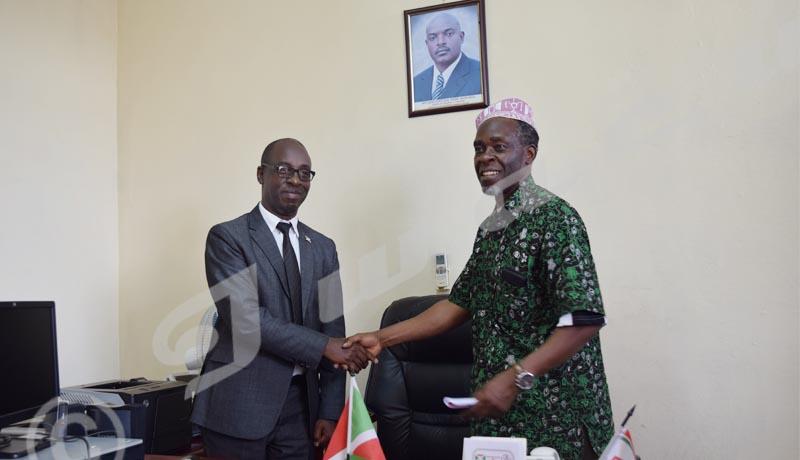 Nestor Bankumukunzi, désormais  président du CNC