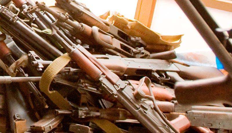 «L'éradication de la détention illégale des armes à feu va bon train»