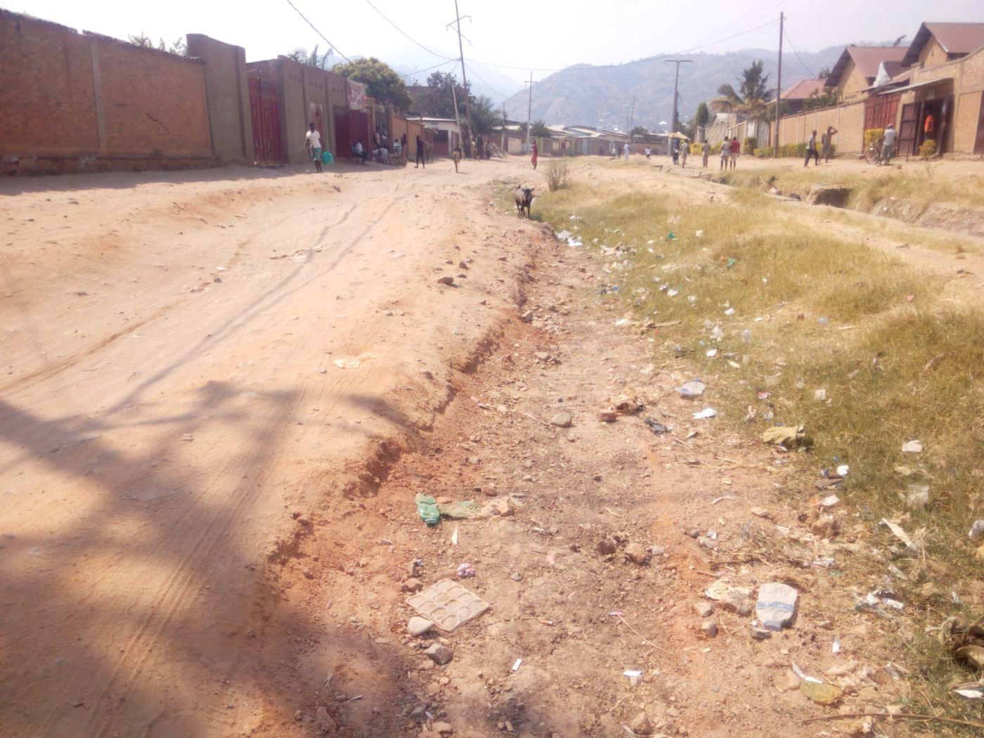 Kanyosha : des avenues dans un piteux état