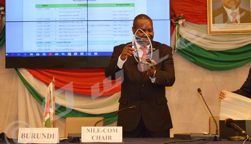 Le Burundi à la tête de l'Initiative du Bassin du Nil