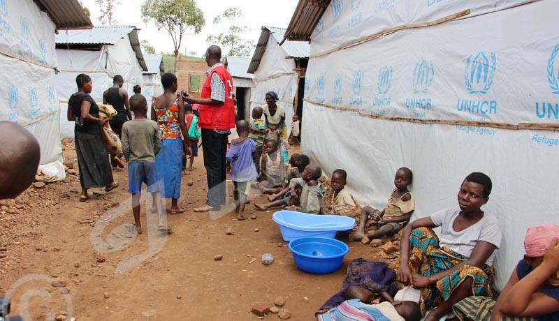 Cibitoke: Plus de 80 demandeurs d'asile congolais accueillis en une semaine