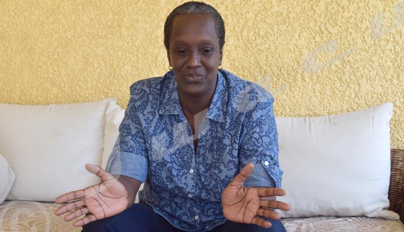 Lydia Nsekera, candidate pour la présidence de l'Acnoa