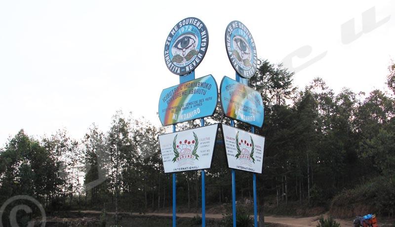 Giheta, deux monuments se disputent la mémoire de 1972