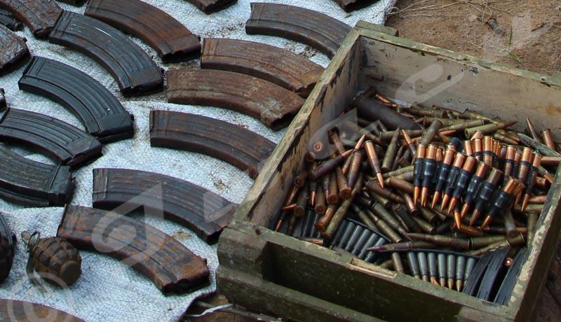 Rumonge : Découverte d'une cache d'armes à Burambi