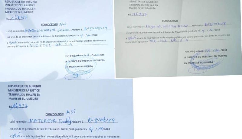 Grève à Viettel Burundi : Le conseil d'arbitrage se fait toujours attendre