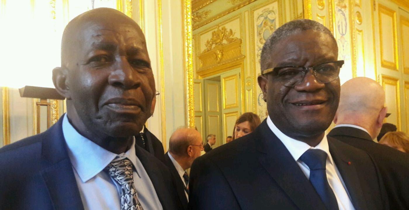 Le Président Macron rend hommage à deux grands hommes: PC Mbonimpa et le Dr Denis Mukwege