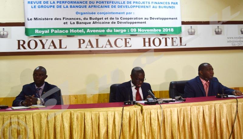 Revue de la performance du portefeuille des projets financés par la BAD au Burundi