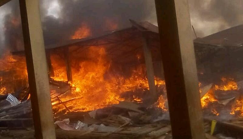 Bururi : Le marché  de Matana  réduit en cendres
