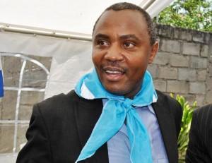 Alexis Sinduhije, président du Mouvement pour la solidarité et le développement (MSD) ©Iwacu