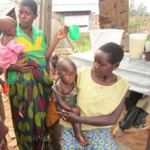 Des enfants souffrant de la malnutrition chronique ©Iwacu
