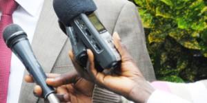 Des micros des journalistes