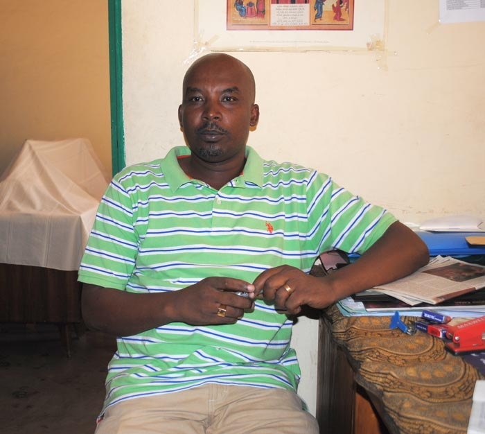 Edouard Nsanzintwari, pyschologue ©Iwacu