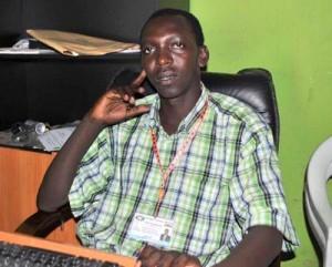 Eric Nkengurutse, de l'Association des rescapés de Buta ©Iwacu