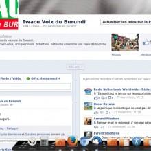 Iwacu sur Facebook