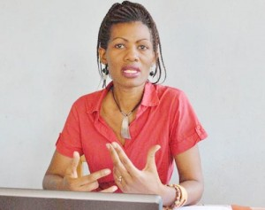 Jeanine Nahigombeye, de l'ONG Impunity Watch ©Iwacu