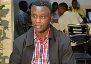 """Léonce Ngabo, président du Festicab : """"Nous voulons passer du court au long-métrage, au Burundi"""" ©Iwacu"""