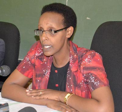 La ministre de l'Enseignement de base et secondaire, Mme Rose Gahiru ©Iwacu