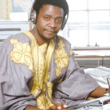 Laurent Ndayuhurume, dans les studios de la BBC ©Iwacu