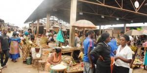 Le marché de Kinama au lendemain de la grève qui a duré toute la journée de lundi 25 novembre ©Iwacu