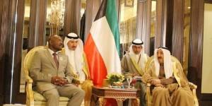 Le président Pierre Nkurunziza avec l'émir du Koweit ©Iwacu