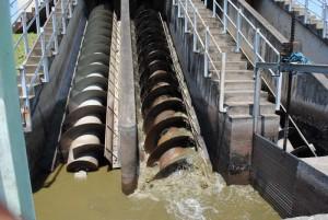 Les machines de la station d'épuration des eaux usées à Buterere ©Iwacu