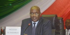 Pie Ntavyohanyuma, président de l'Assemblée nationale ©Iwacu