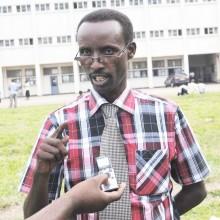 Pr. Jean Salathiel Muntunutwiwe, politologue ©Iwacu