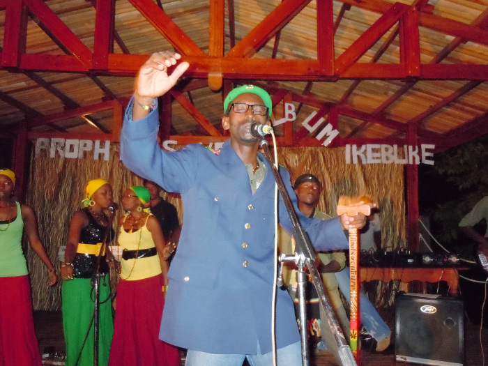 Steeven Kezamutima, des Prophet's Voice ©Iwacu
