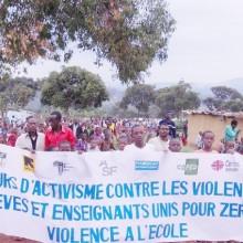 Une marche de soutien aux victimes des violences faites aux femmes a été organisée au Camp de Bwagiriza ©Iwacu