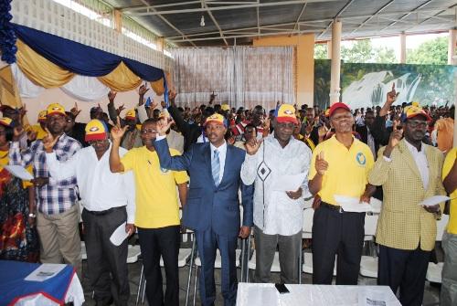 Vue partielle des membres du parti présents à la célébration du 11è anniversaire du parti MRC ©Iwacu