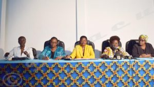 Leaders of women' associations