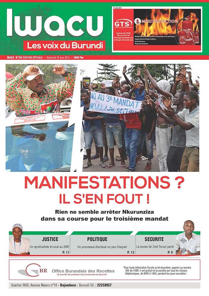 IWACU Hebdomadaire n°324