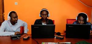IWACU Web radioteam