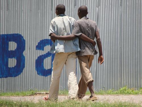 Vue insolite d'une rue de Bujumbura  ©J-M. N.