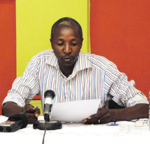 Pour Aloys Batungwanayo, les hommes qui ont sauvé les autres durant la crise de 1972 devaient nous servir d'exemple ©Iwacu