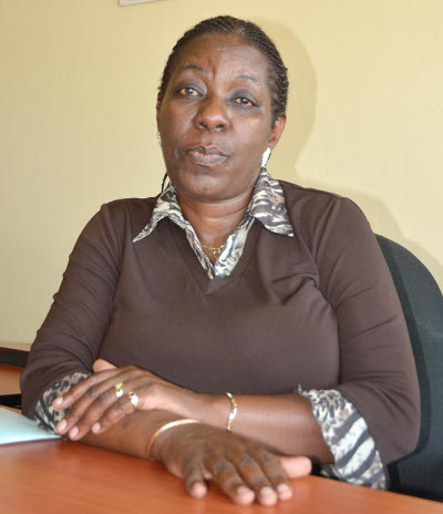 Marie-Louise Sibazuri, dramaturge et ambassadeur du Burundi déléguée à la Francophonie ©Iwacu