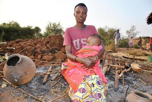 Jeanine Uwambayinzobe : «Je ne pouvais plus respirer à cause de la fumée » ©Iwacu