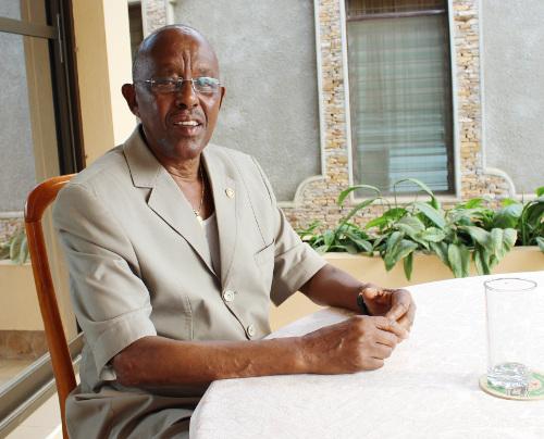 ihute Donatien, économiste et premier Administrateur Burundais à la Banque Mondiale – de 1968 à 1972  ©dr