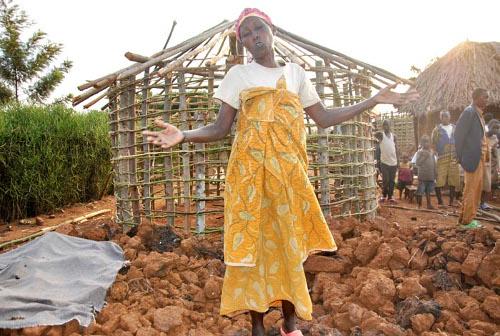 Patricia Mukakayonde : « Ce sont les voisins qui nous ont sauvés » ©Iwacu