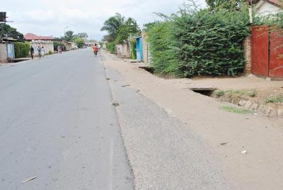 La dernière bavure a été commise sur cette avenue (Forces Armées) qui séparent les quartiers 1 et 5 ©Iwacu