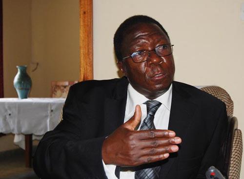 Sylvestre Ntibantunganya : « Des décisions qui se tiennent sans vous peuvent être contre vous-mêmes. »  ©Iwacu