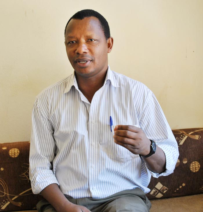 Pr Léonidas Ndayisaba ©Iwacu