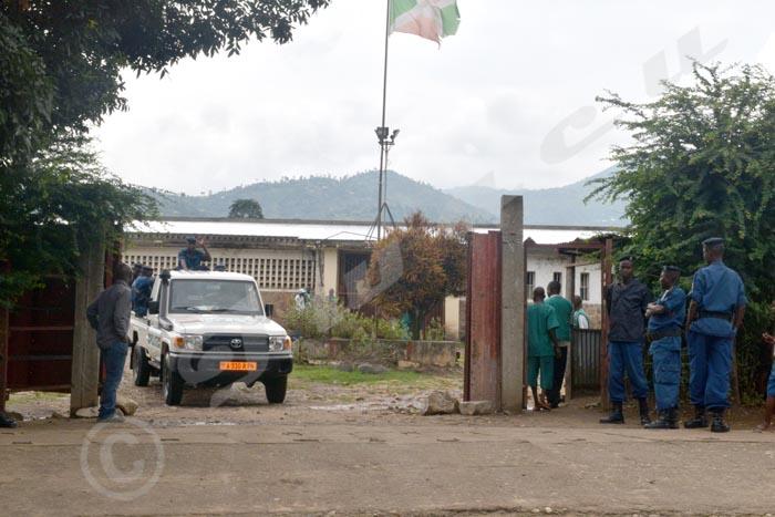 Entrée de la prison centrale de Mpimba