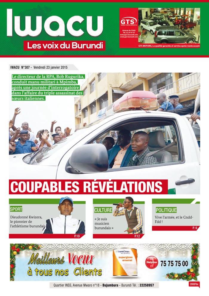 IWACU Hebdomadaire n°307